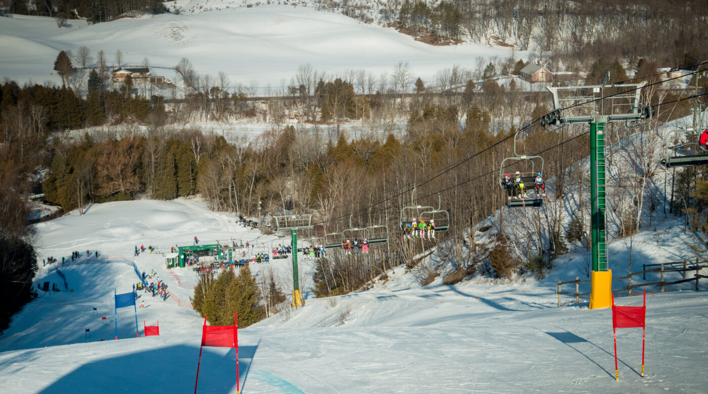 Hockley Valley Ski Resort In Ontario