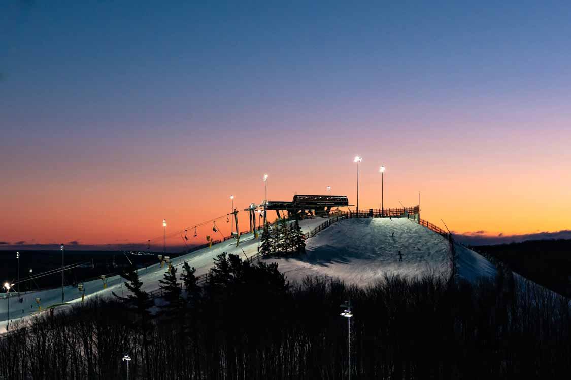Mount St Louis Moonstone ski resort in Ontario