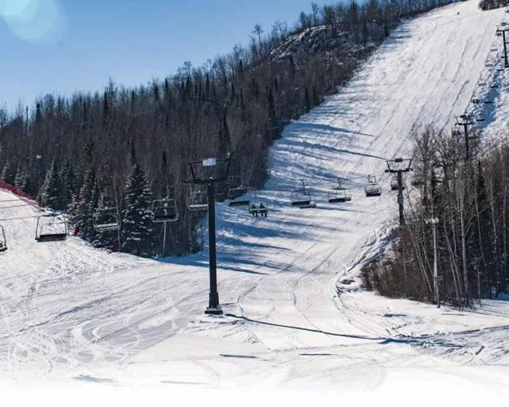Loch Lamond Ski Resort in Northern Ontario