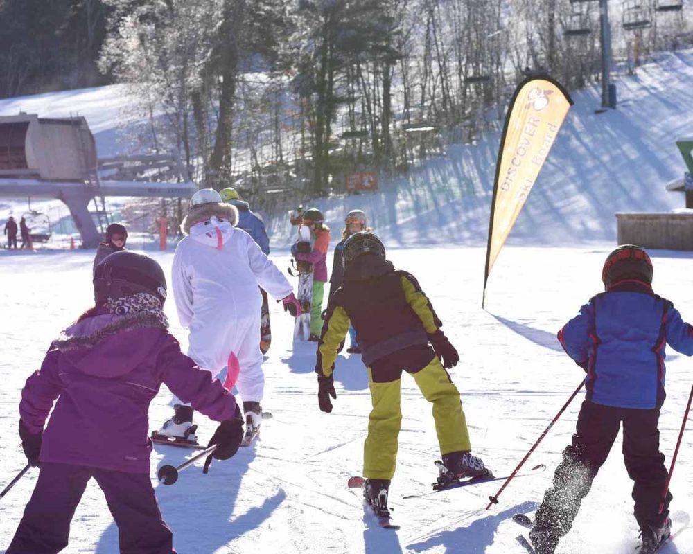Ski Mount Packenham In Northern Ontario