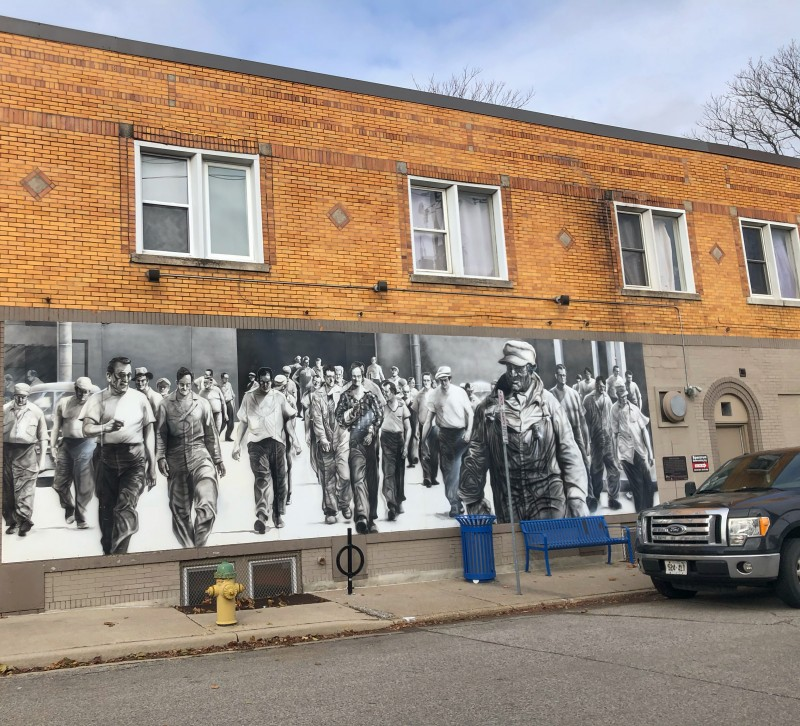 The Ford City Murals