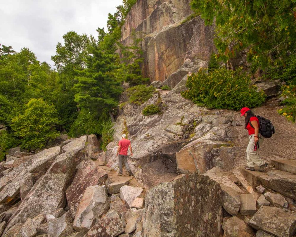 Best hikes in Ontario Lake Superior Coastal Trail