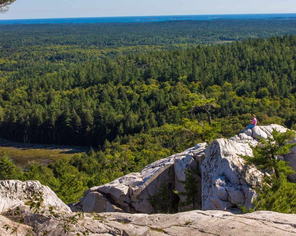 Killarney Provincial Park La Cloche Silhouette Trail beautiful hikes in Ontario