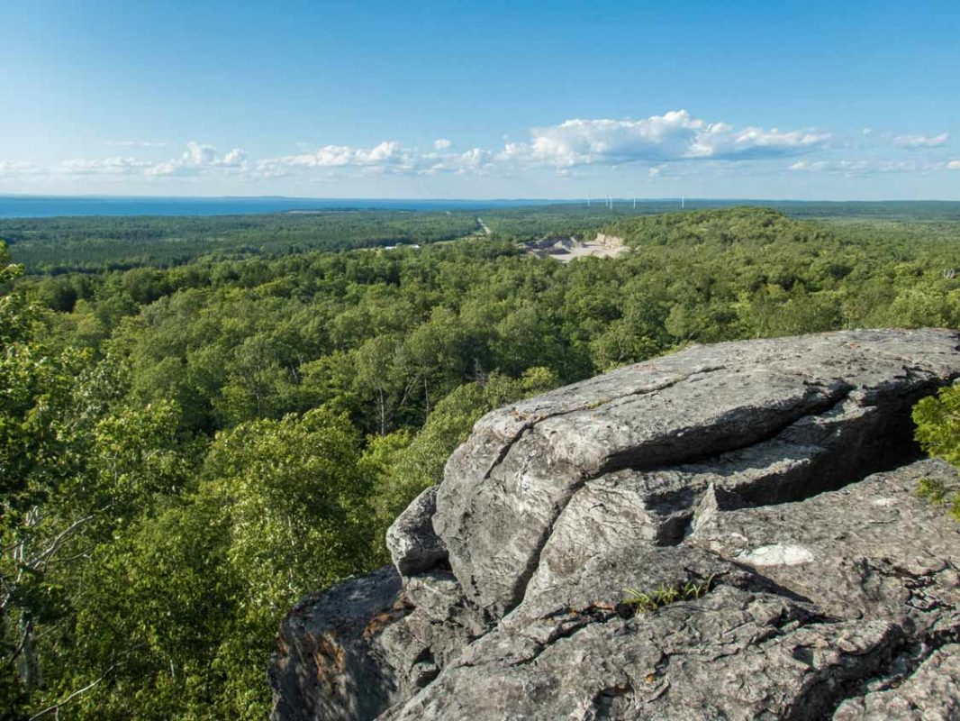Manitoulin Island Cup and Saucer Trail Hikes in Ontario