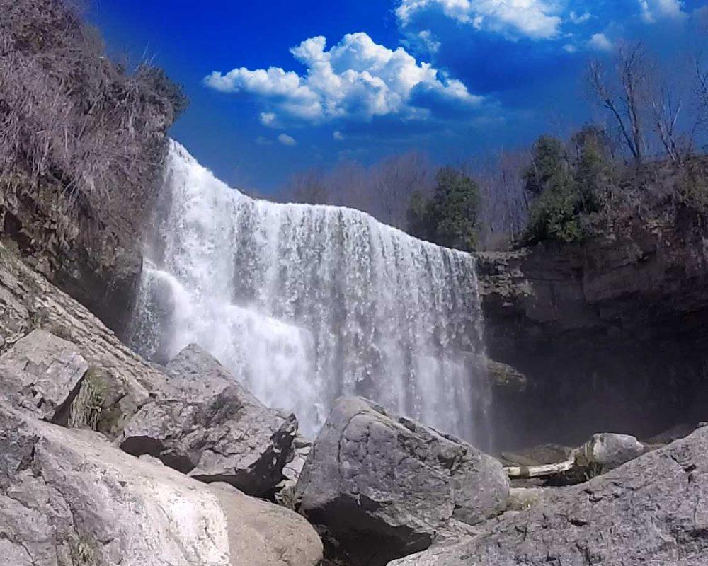 Spencer Creek Gorge To Old Dundas Loop top Ontario Hiking Trails