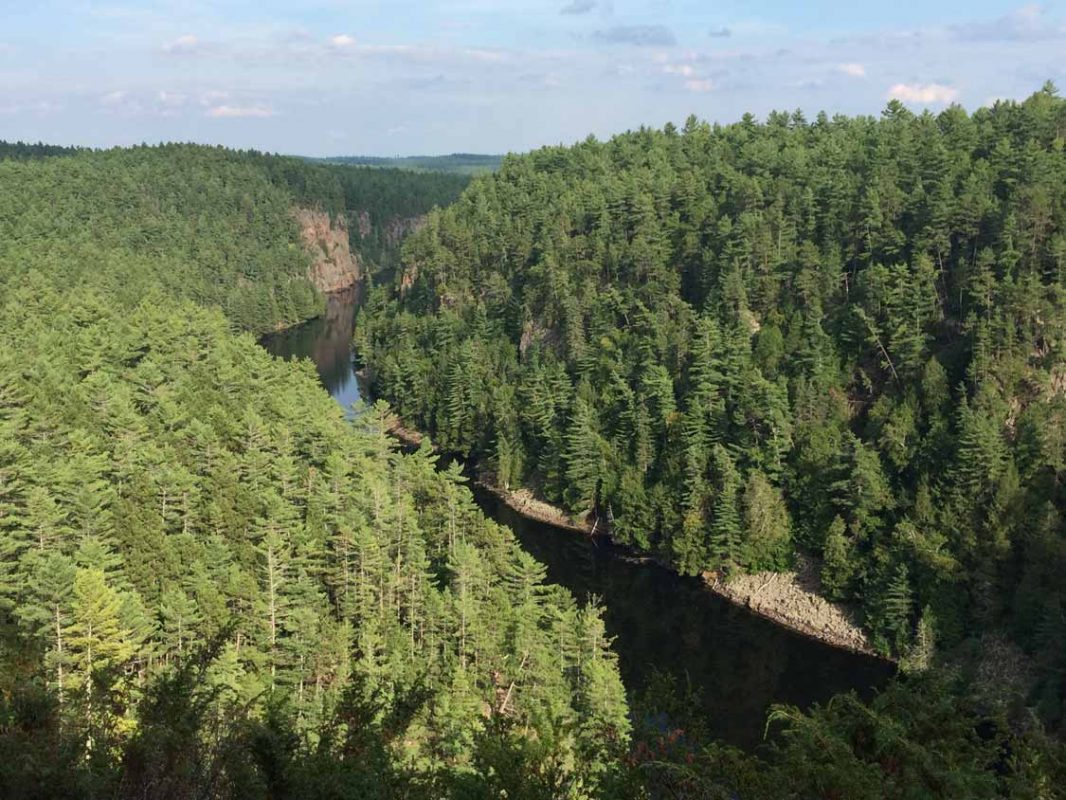 The Best Hikes In Ontario Barron Canyon Algonquin Park