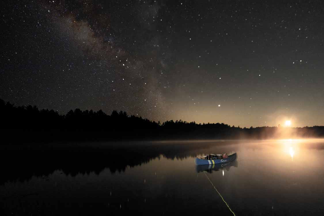 Ontario Stargazing in Kawartha-Highlands Provincial Park