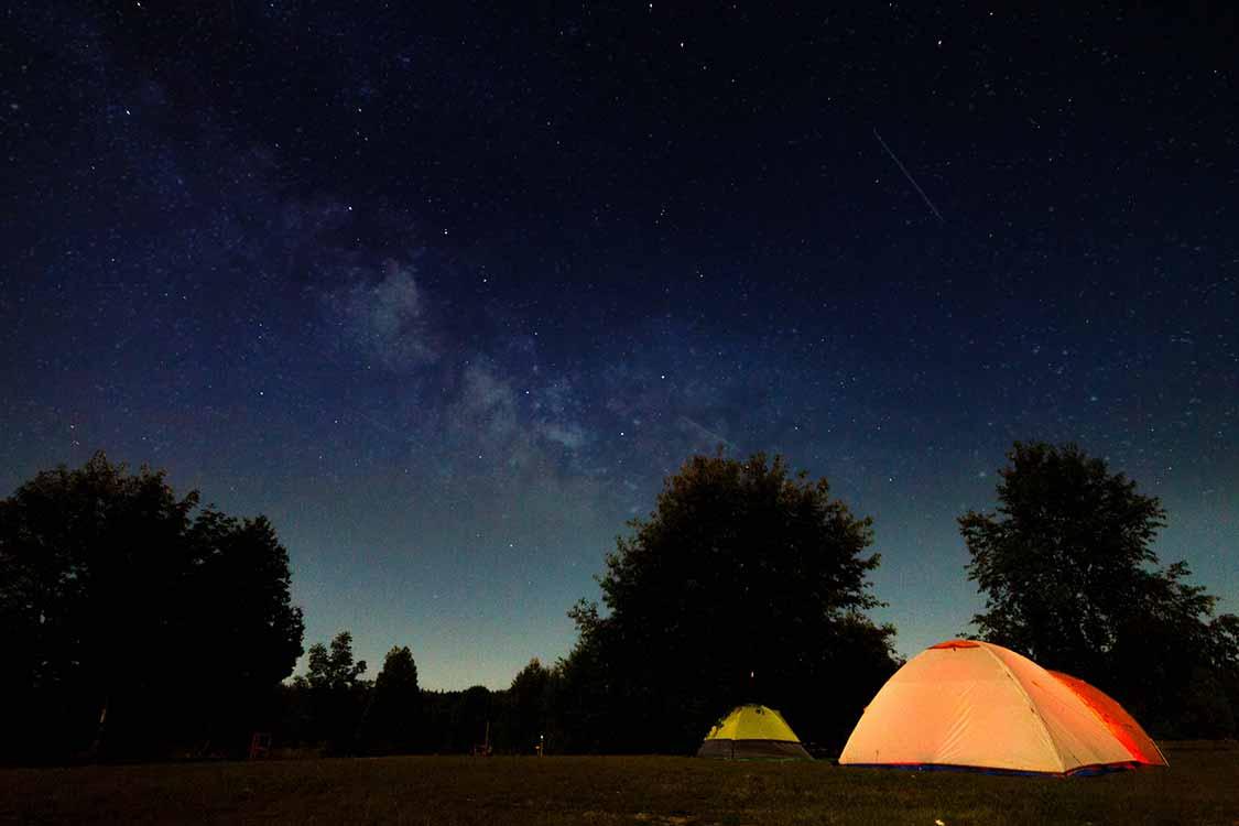 Ontario dark sky preserves-Gordons Park Manitoulin Island