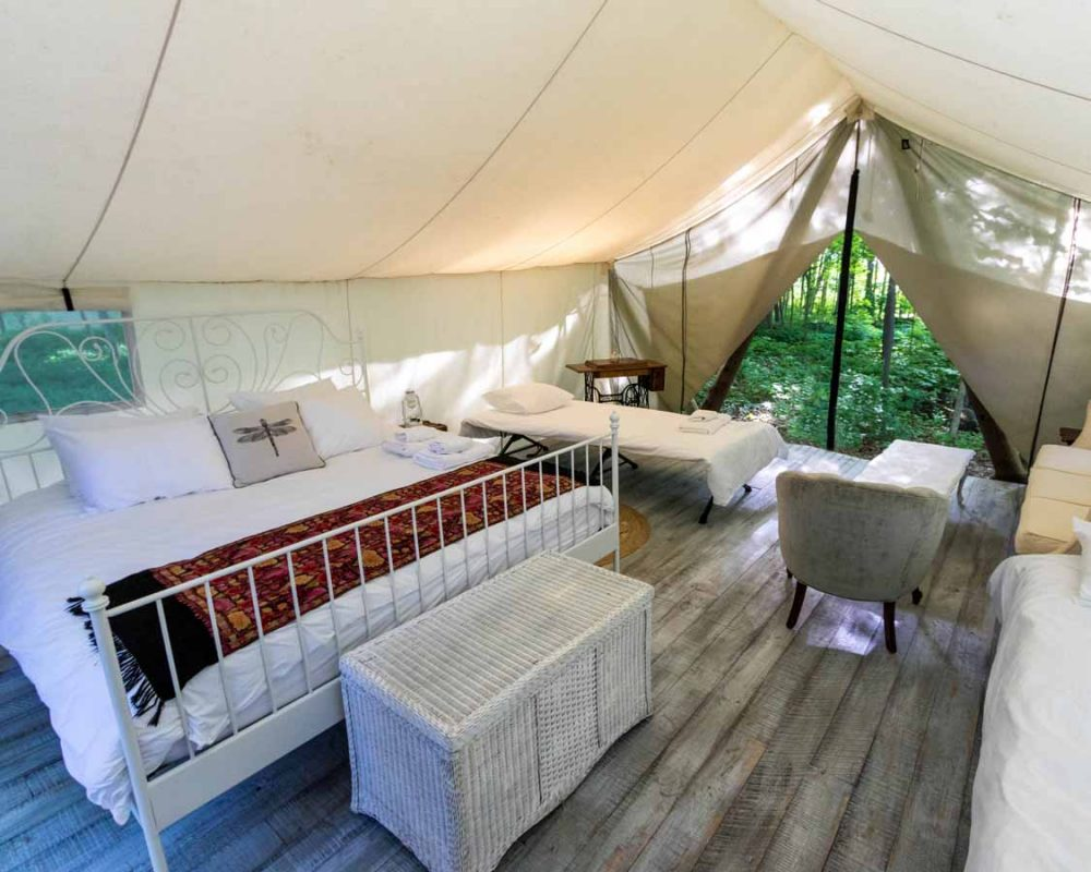 Glamping Ontario staycations