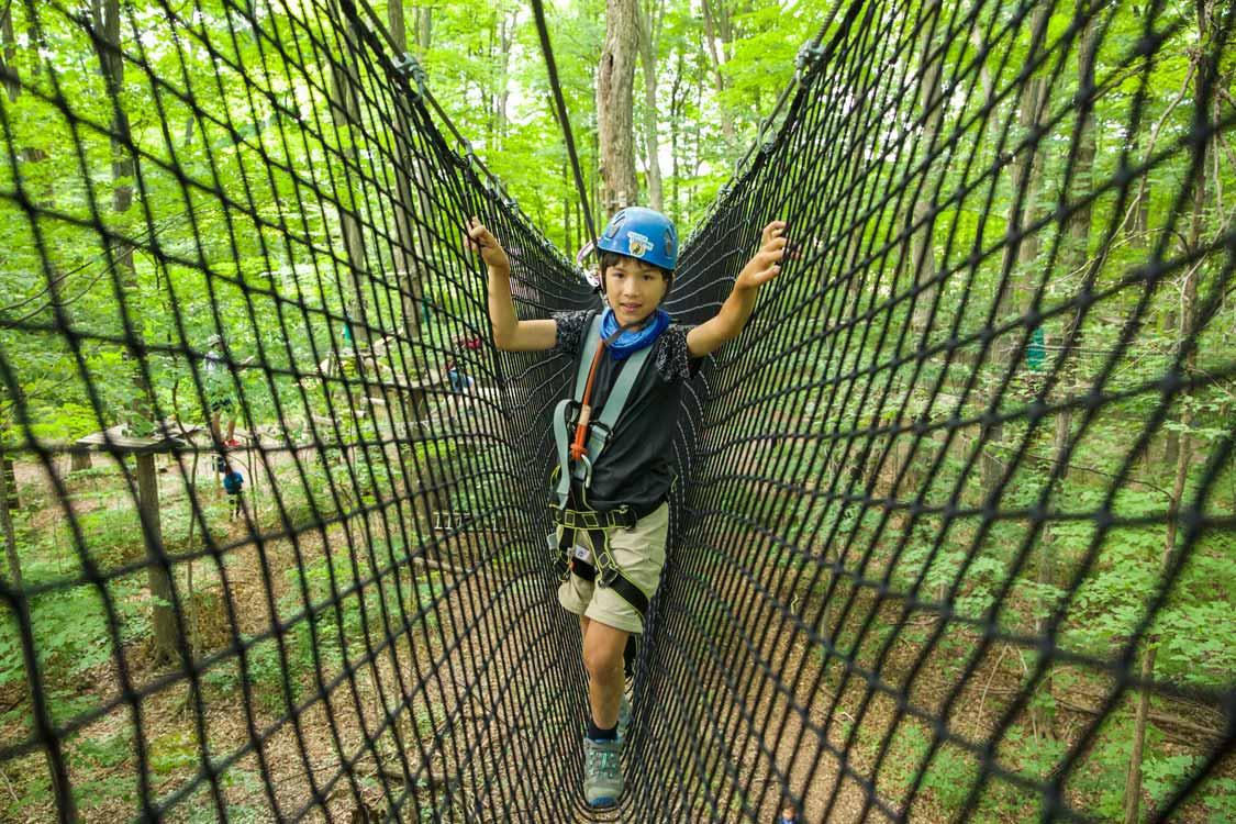 Kids Treetop walks in Toronto