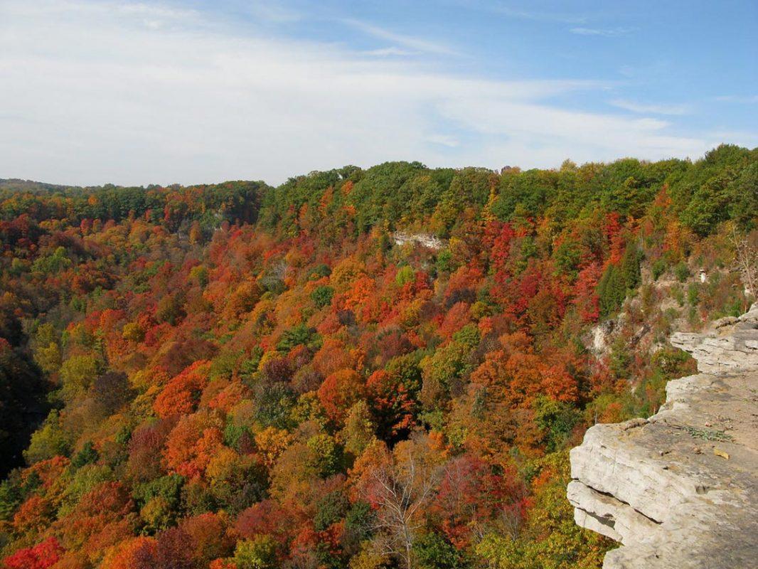 Dundas Peak in the Fall