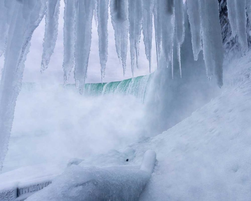 Niagara Falls Journey Behind the Falls Winter