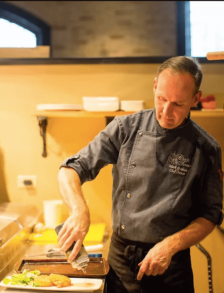 Mark Graham the owner and executive chef at the Clock Tower Inn in Strathroy, Ontario