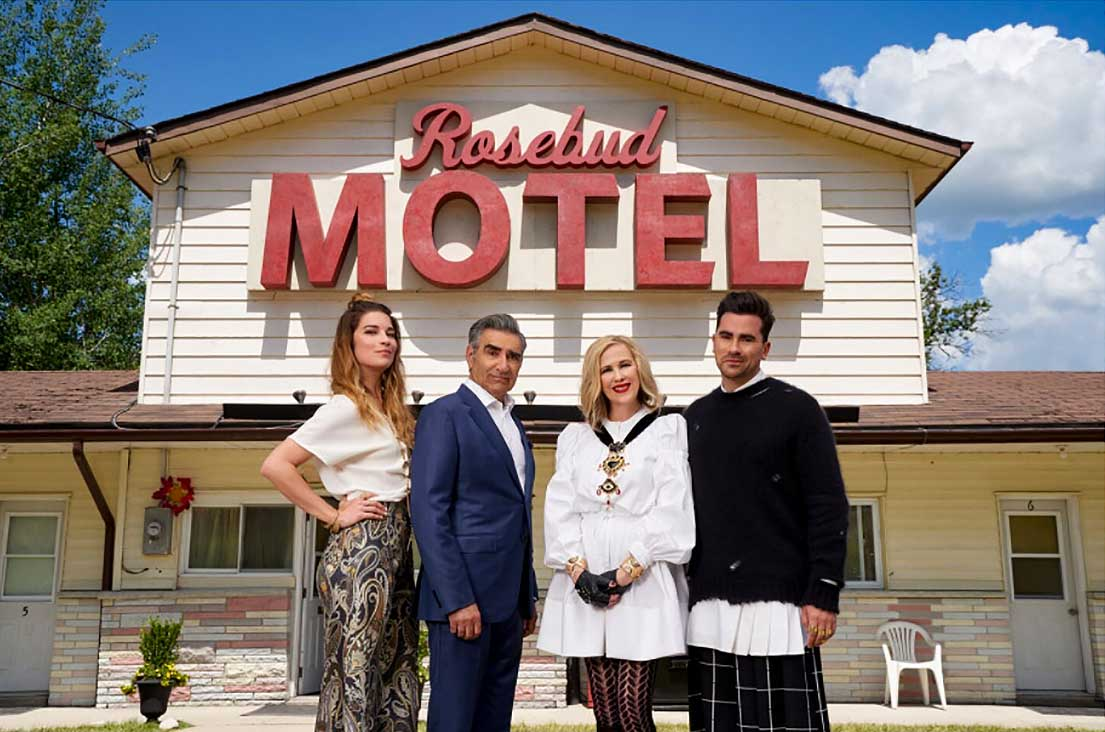 Rosebud Motel from Schitt's Creek filming locations in Ontario