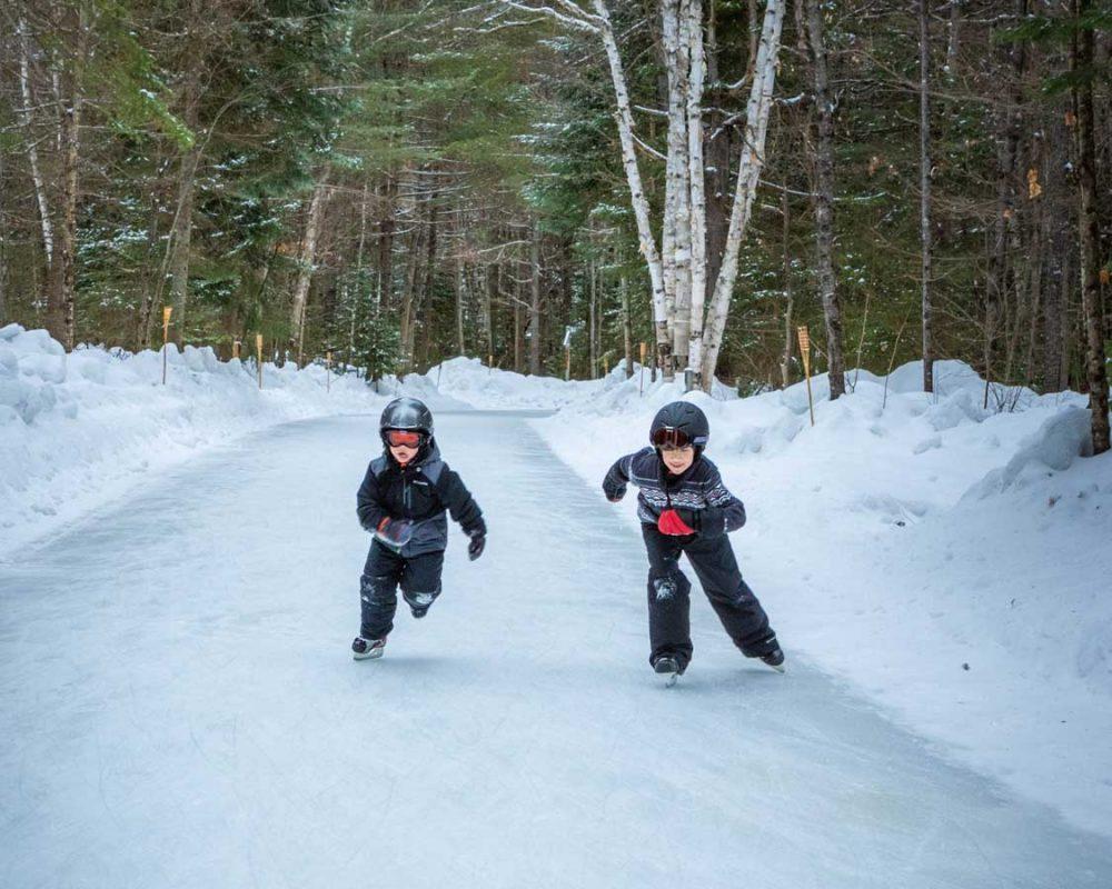 Arrowhead skating trail in Ontario - Photo Credit: Kevin Wagar