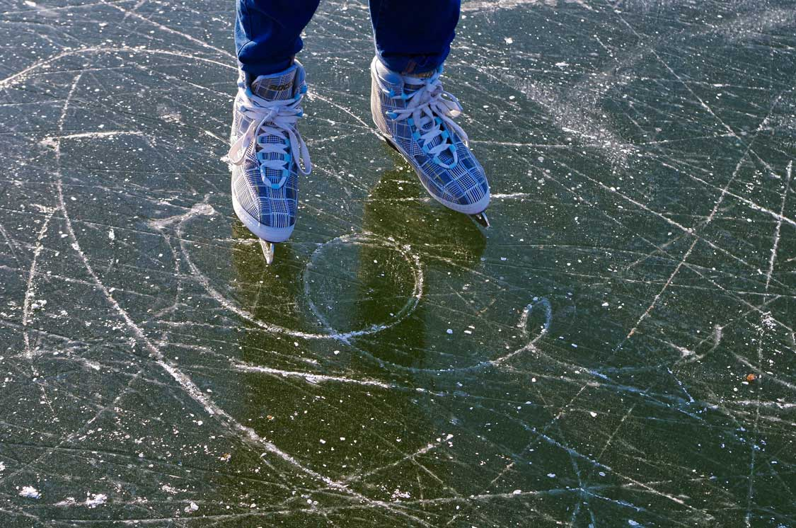 Outdoor skating trails in Ontario