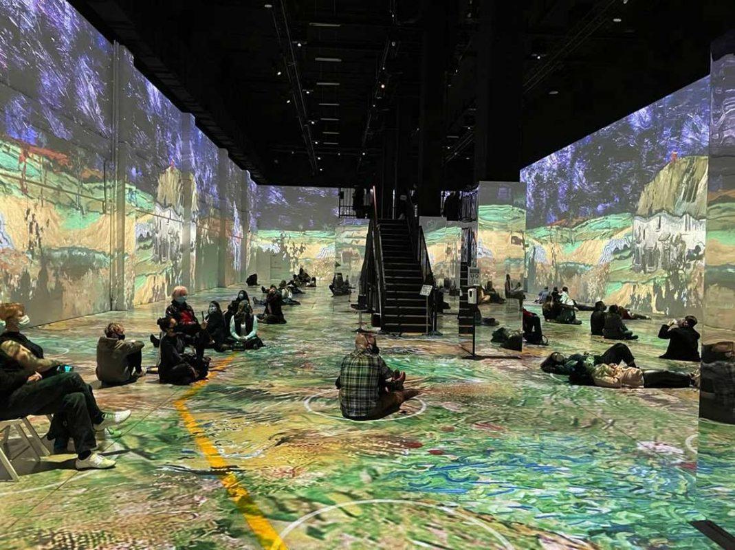 Immersive Van Gogh Light Show in Toronto