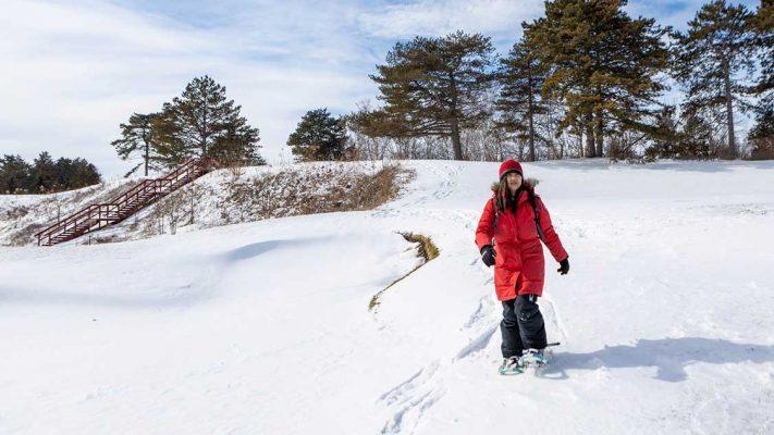 Ontario Snowshoeing