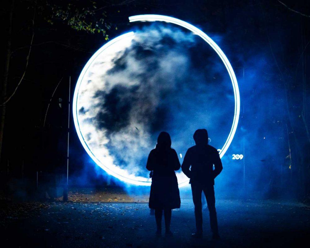 Terra Lumina Winter Light Show in Ontario