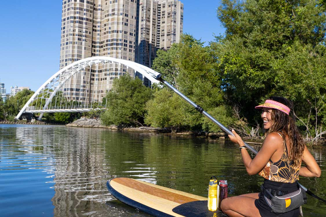 stand-up paddleboarding in Toronto