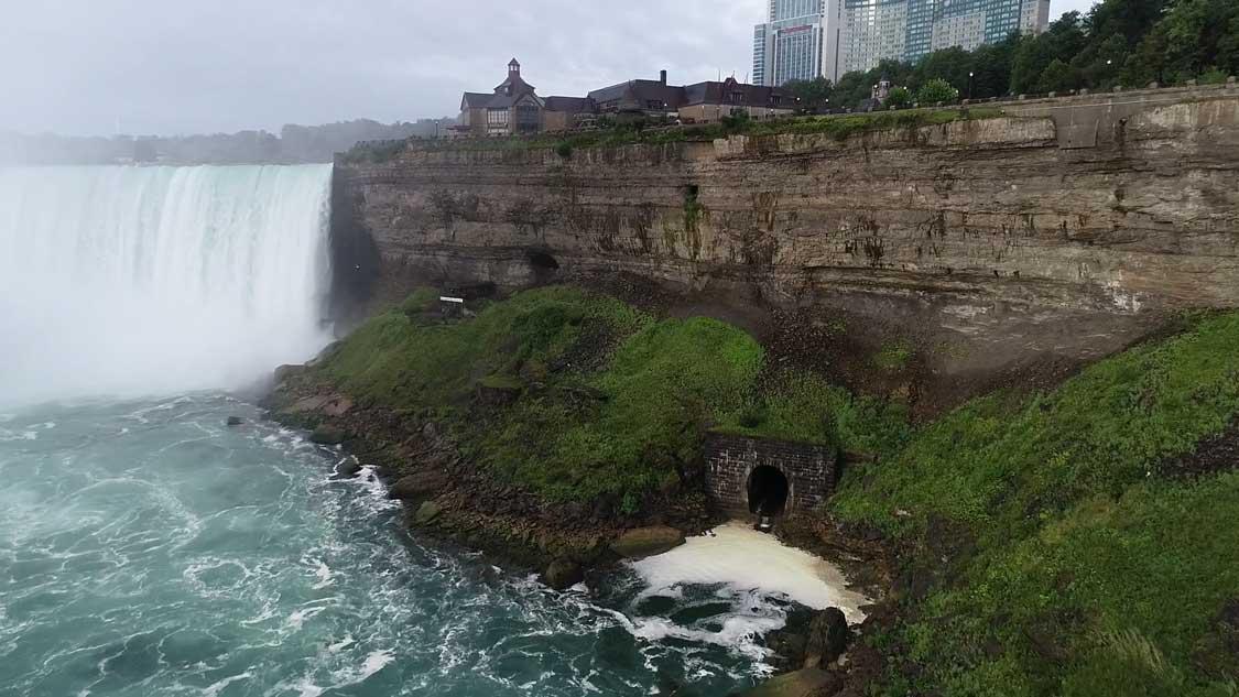 Niagara Falls and the Niagara Power Plant
