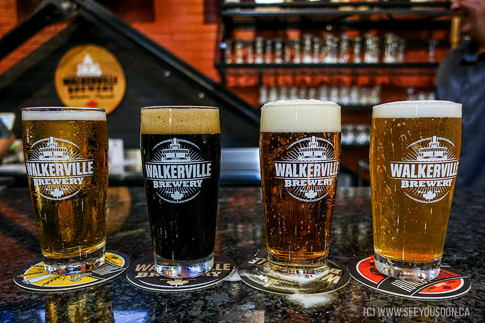 Walkerville Brewery is one of the best breweries in Ontario.
