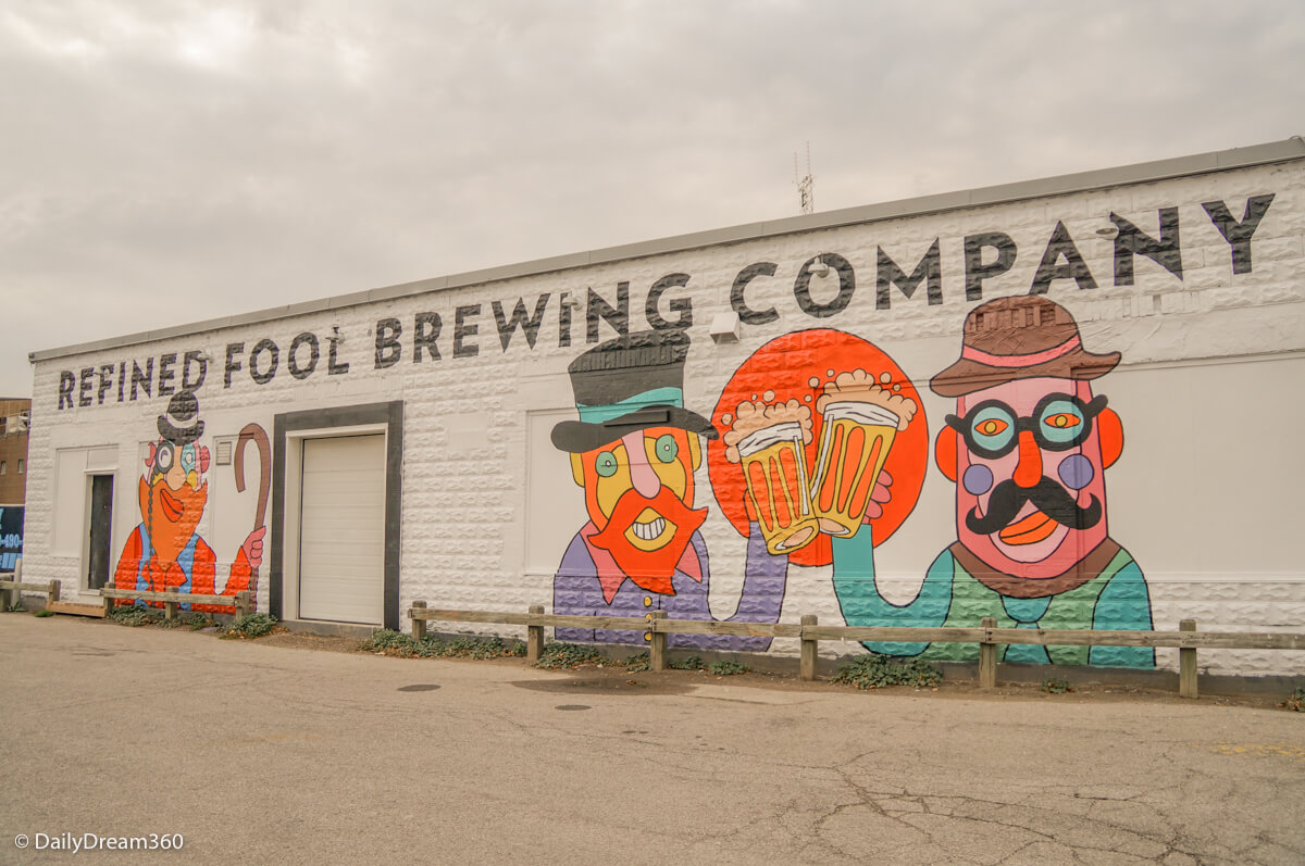Refined Fool Brewing Company is one of the best Ontario breweries.