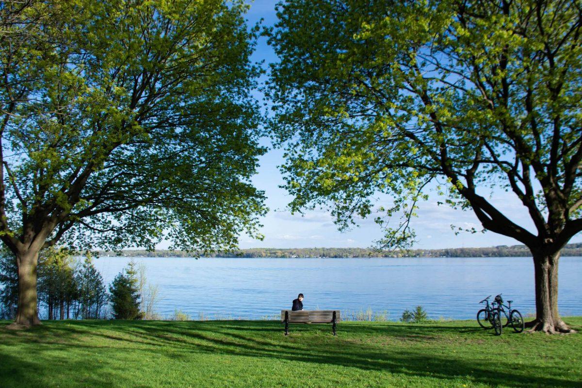 Kempenfelt Park in Barrie, Ontario