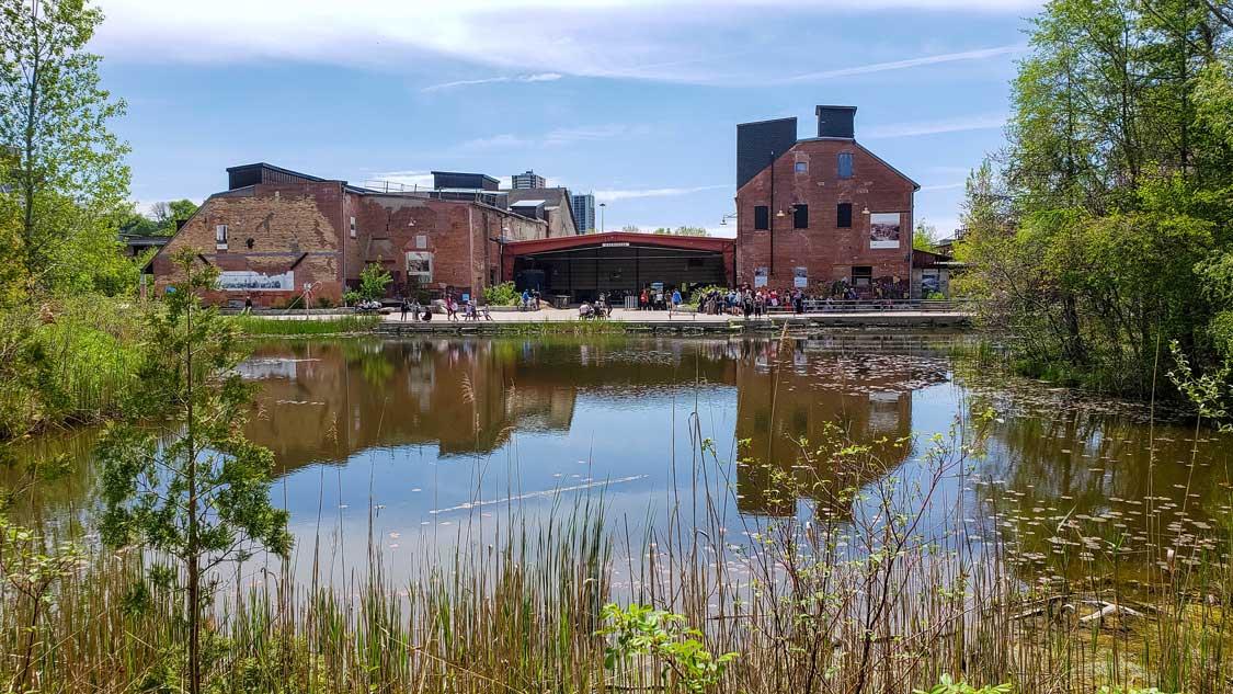 Evergreen Brick Works hikes in Toronto