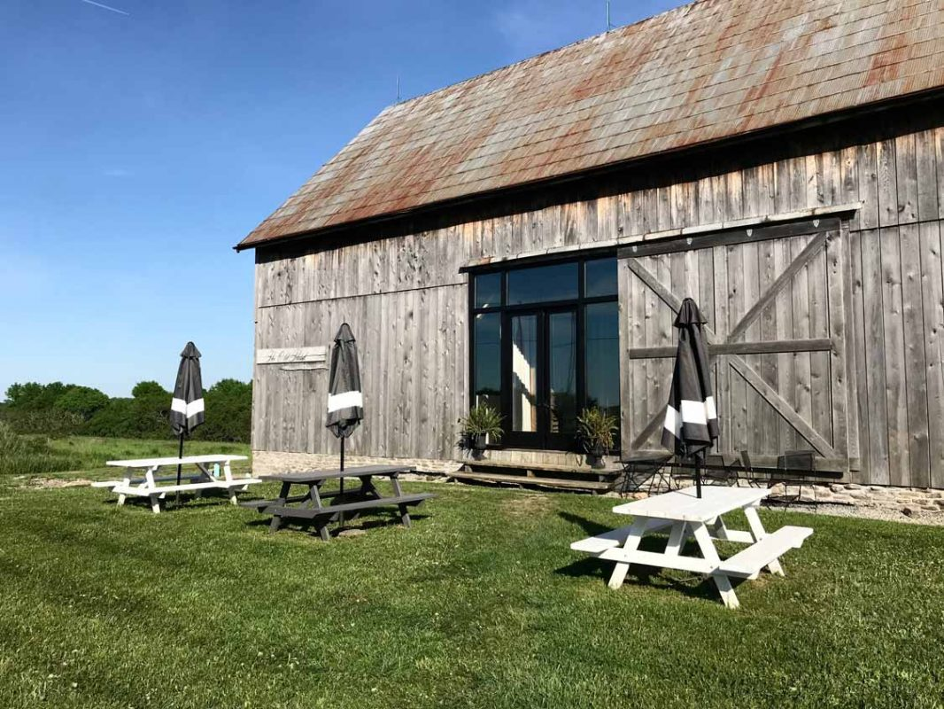 The Old Third Prince Edward County Winery